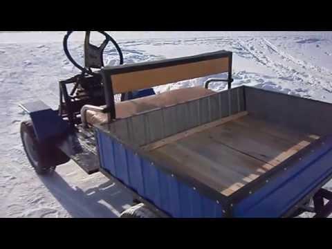 Как сделать мини грузовик своими руками видео