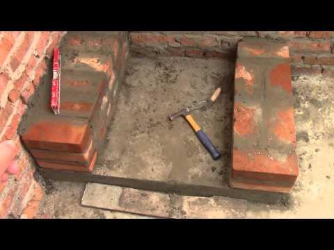 Дачная печь  видео