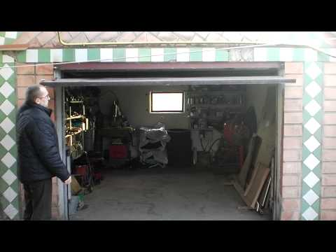 Онлайн видео Гаражные самодельные ворота.MP4. Вы можете посмотреть