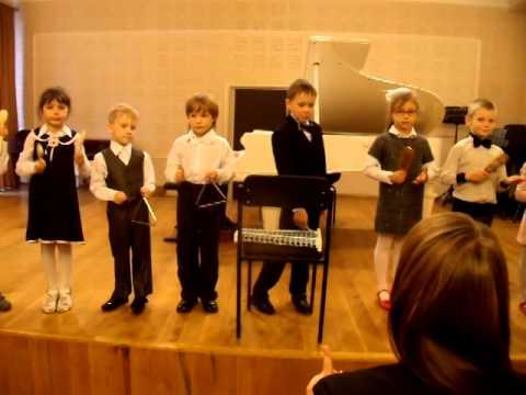 Конкурс шумовой оркестр
