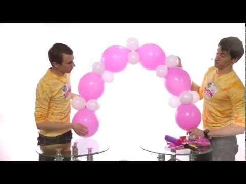 Как сделать гирлянду из шаров своими руками