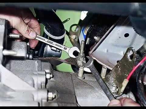 Как заменить трос сцепление на ваз 2110