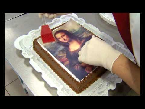 Торт с фотопечатью своими руками 67