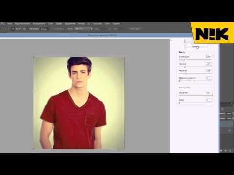 Как сделать в фотошопе эффект кисть