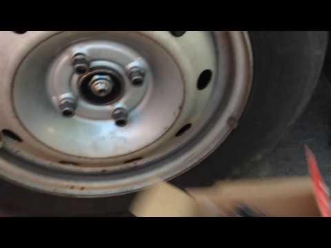 Замена тормозных накладок рено логан