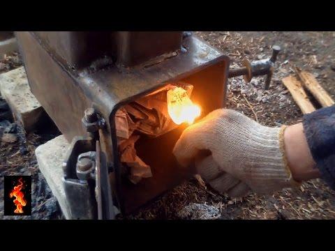 Ракетная печь своими руками фото