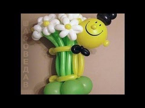 Букет с шариков своими руками
