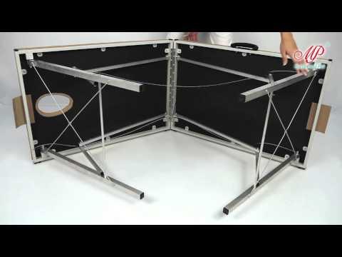 Как сделать раскладной массажный стол видео