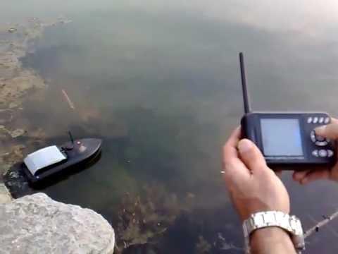 Катер на радиоуправлении своими руками для рыбалки