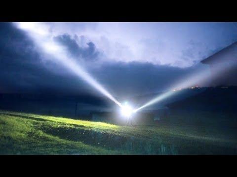 Мощный фонарь своими руками фото