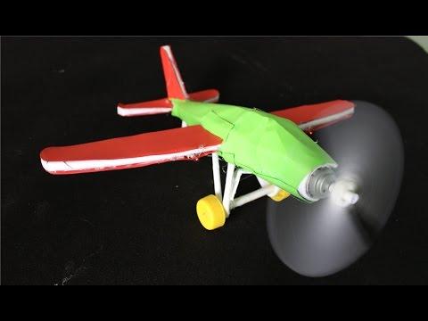 """Как сделать бумажный самолет с двигателем """" K2eao.ru"""