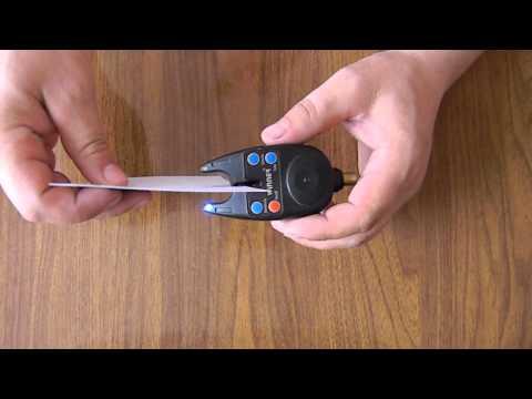 Сигнализатор поклёвки своими руками видео