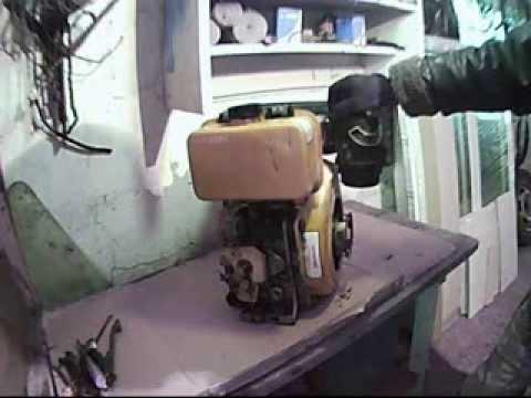 Ремонт дизельного двигателя мотоблока своими руками видео