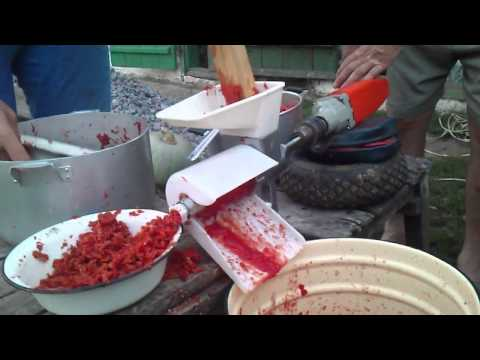 Соковыжималка для томатов электрическая своими руками