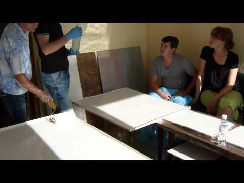 Видео мастер класс наливные полы