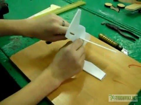 Модель из пенопласта своими руками