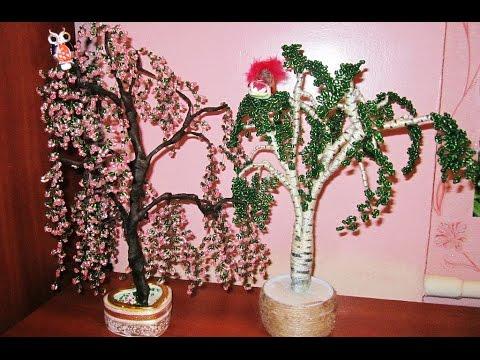 Дерево бисера своими руками для новичков