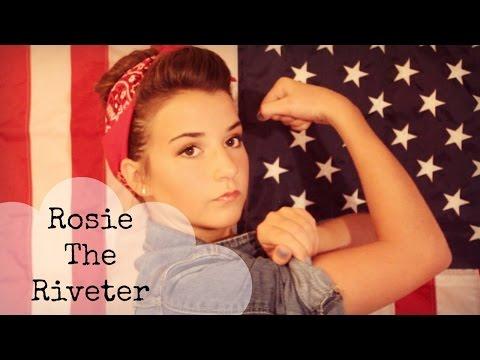 Rosie the riveter makeup