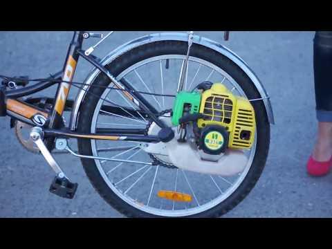 Как сделать мотор к велосипеду своими руками