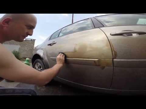 Чем удалить гудрон с кузова автомобиля своими руками
