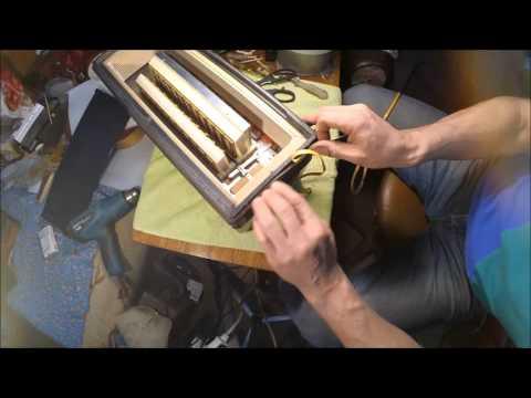 Баян ремонт своими руками меха
