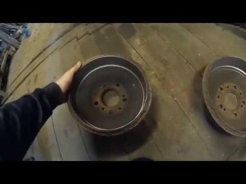 Расточка барабанов ваз своими руками