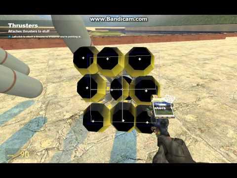 Garrys mod как сделать огнемет