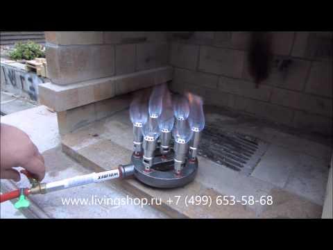 Горелка газовая природный газ своими руками