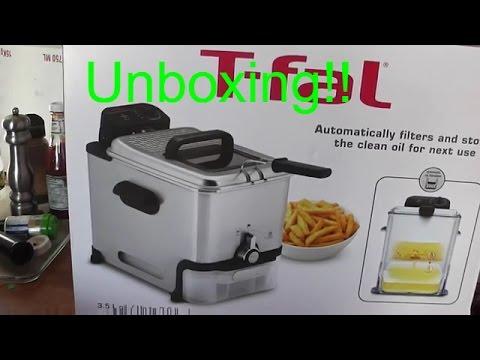 T fal FR8000 Oil Filtration Ultimate EZ Clean Easy to clean 3 5 Liter Fry Basket