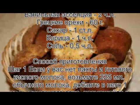 Рецепты кексов в формочках на молоке