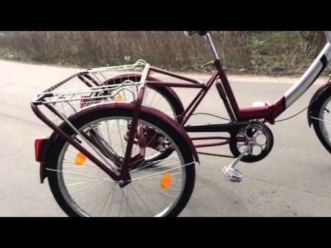 Взрослые трехколесные велосипеды своими руками видео