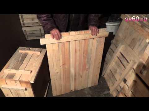 Деревянные улья своими руками от а до я видео