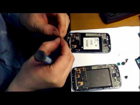 Samsung s3 замена экрана своими руками