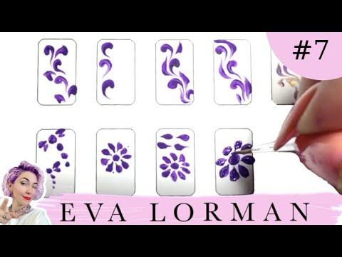 Легкие росписи для ногтей
