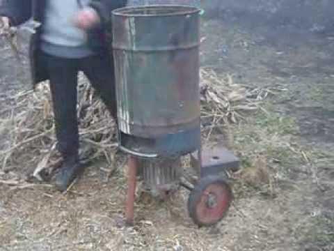 Измельчитель сена видео своими руками - Enote.ru