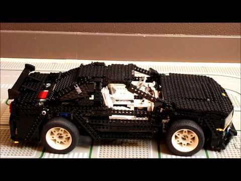ГНТИ - LEGO Nissan Skyline GTR R34 8880 moc - Видеорепортажи из мира науки и техники