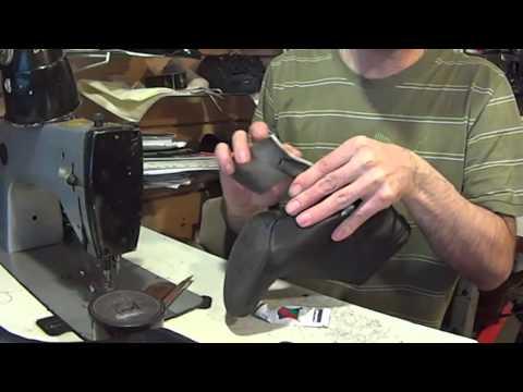 Ремонт обуви видео обтяжка каблука
