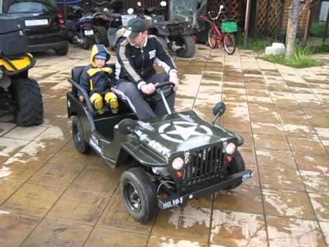 ГНТИ - Детский автомобиль с бензиновым двигателем - Видеорепортажи из мира науки и техники