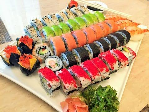 Как приготовить самые легкие суши