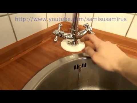 Установка смесителя для кухни своими руками