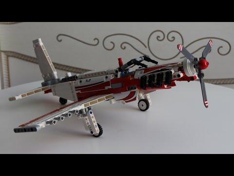 Самодельный самолёт из лего