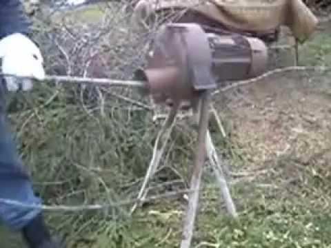 Самодельный измельчитель веток самодельный измельчитель травы и веток - Рецепты-видео и фото портал