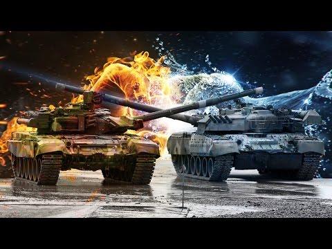 На оборонной выставке айдекс-2011, проходящей в абу-даби, был представлен российский танк т-90с