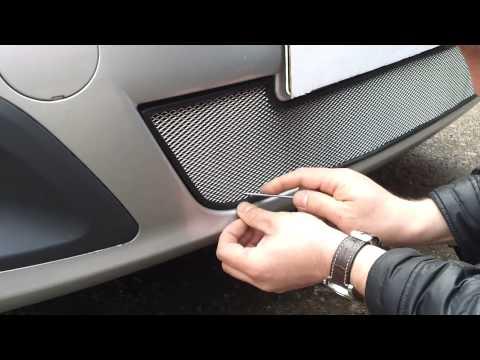 Сетки в решетку радиатора ларгус своими руками