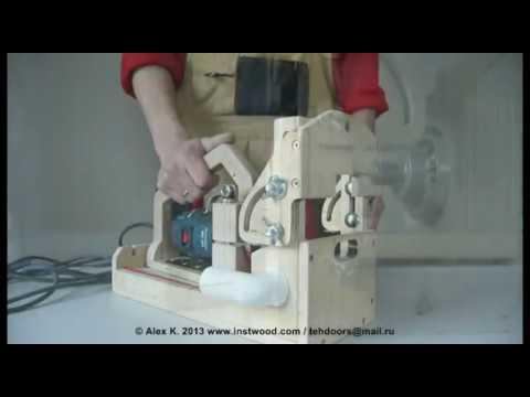 Пазово дюбельный фрезерный станок своими руками чертежи