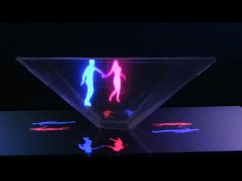 Голограммный проектор своими руками