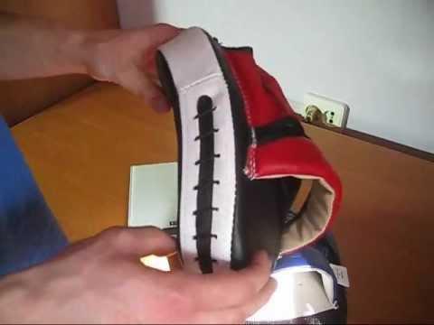 Как сделать боксерскую лапу своими руками видео