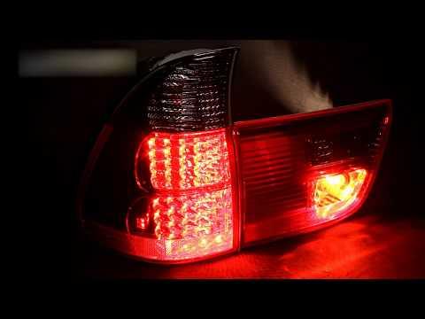 Тюнинг задних фонарей бмв х5 е53