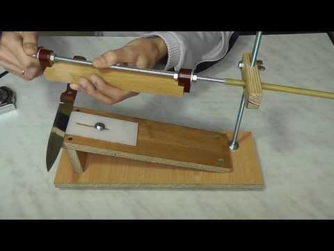 Приспособления для заточки ножей своими руками фото