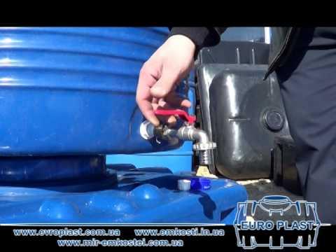 Как сделать отверстие в пластиковой бочке